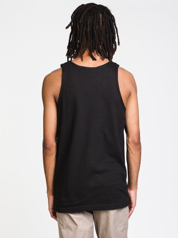 MENS NEW REVERSE CORE TANK - BLACK