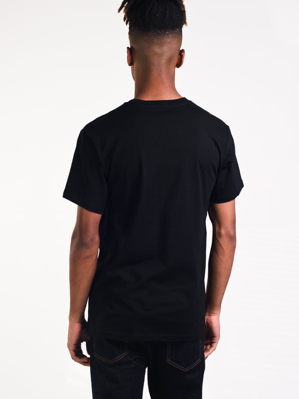 MENS COLLEGE S/S T - BLK