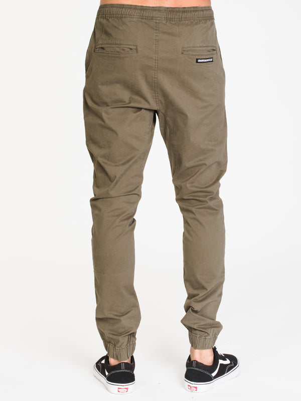 MENS CROOKS JOGGER - OLIVE