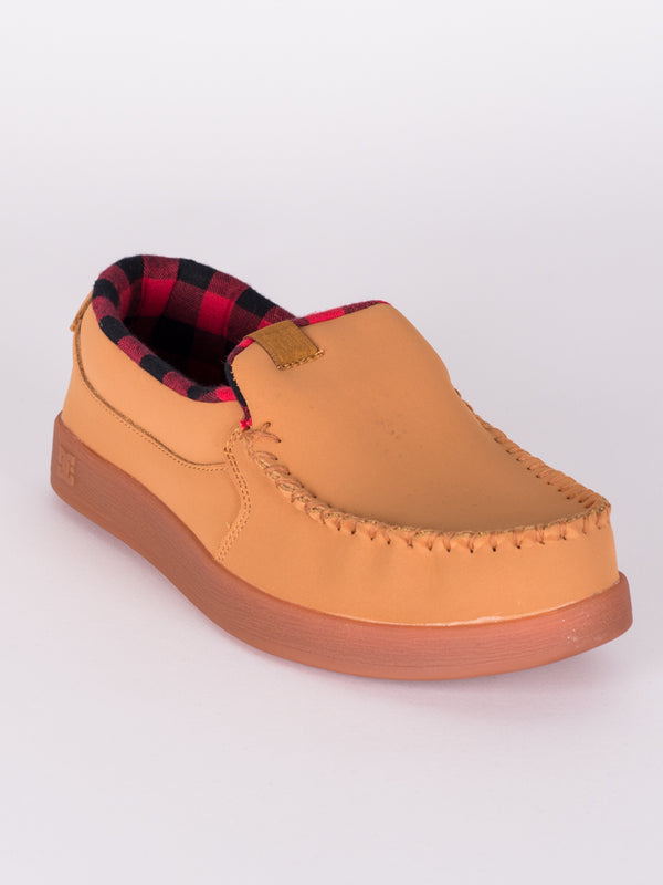 MENS VILLAIN SE - WHEAT/BLACK/CHOC - CLEARANCE