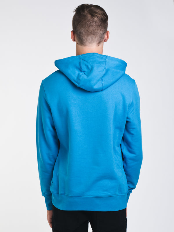 MENS SPECTRA PULLOVER HOODIE- BLUE/ROSE