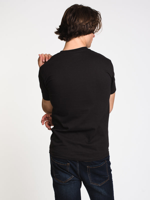 MENS HOOLIGAN T - BLACK
