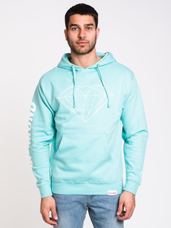 MENS BRILLIANT PULLOVER HOODIE- MINT