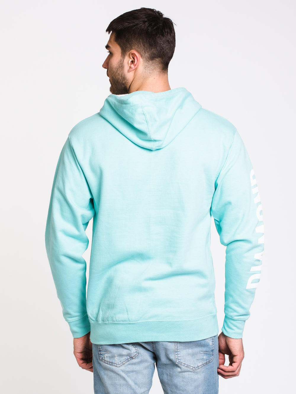 0db97e9ee932 MENS BRILLIANT PULLOVER HOODIE- MINT