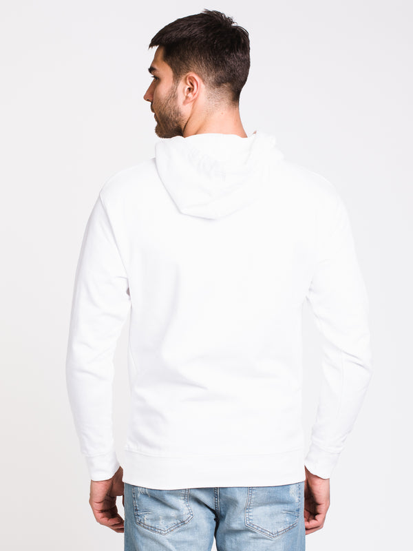 MENS VOWS BOX LOGO PULLOVER HOODIE - WHITE