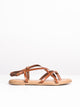 WOMENS ALLEGRA - BROWN-D2 - CLEARANCE