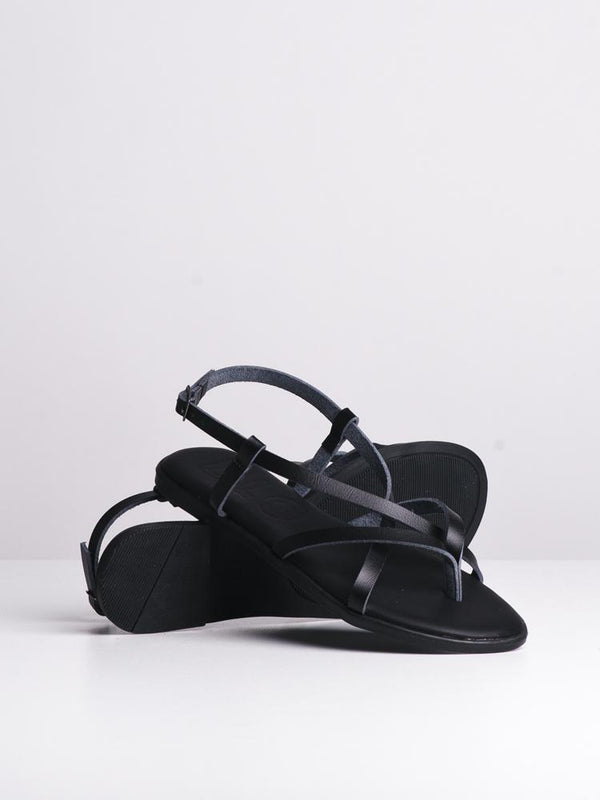 WOMENS ALLEGRA BLACK SANDALS