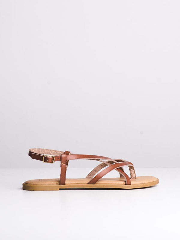 WOMENS ALLEGRA TAN SANDALS- CLEARANCE