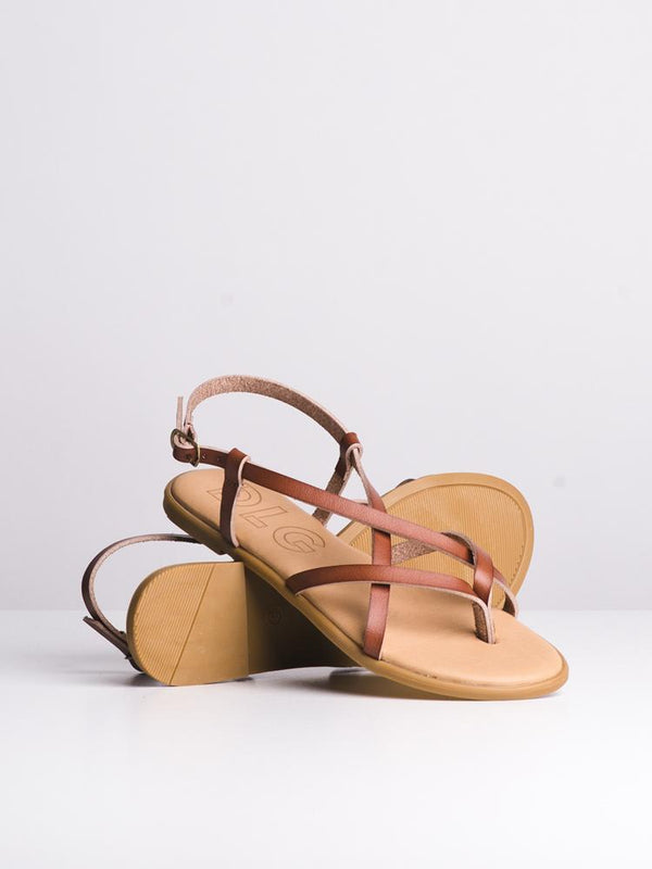 WOMENS ALLEGRA TAN SANDALS