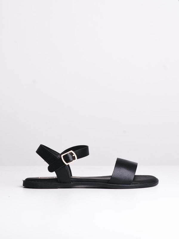WOMENS AUBREY BLACK SANDALS