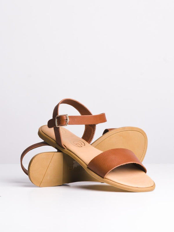 WOMENS AUBREY TAN SANDALS