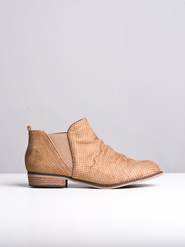 WOMENS PHOEBE LIGHT TAN BOOTS- CLEARANCE