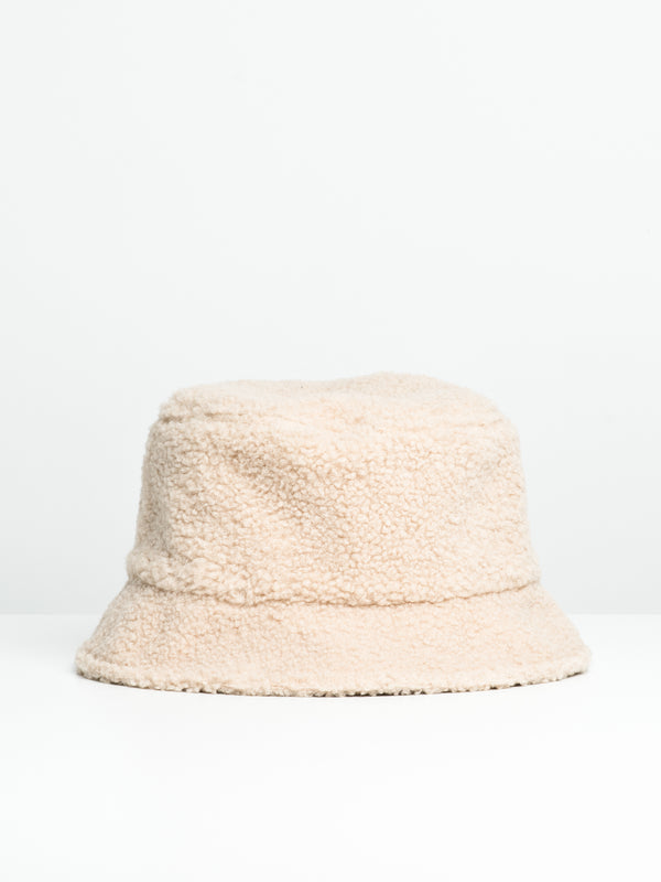 BUCKET HAT - SHERPA - CREAM