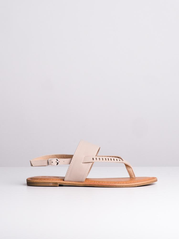 WOMENS CASEY NUDE SANDALS