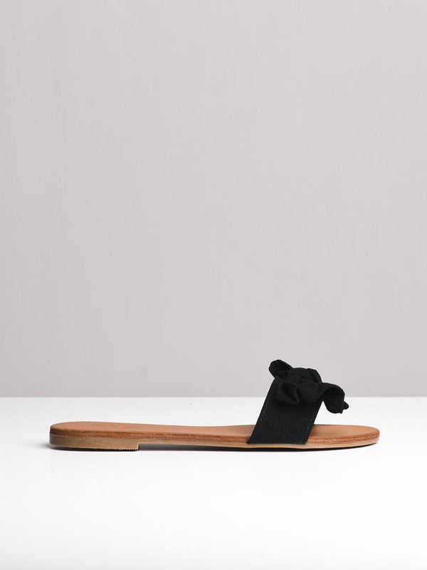 WOMENS EVIE BLACK SANDALS- CLEARANCE