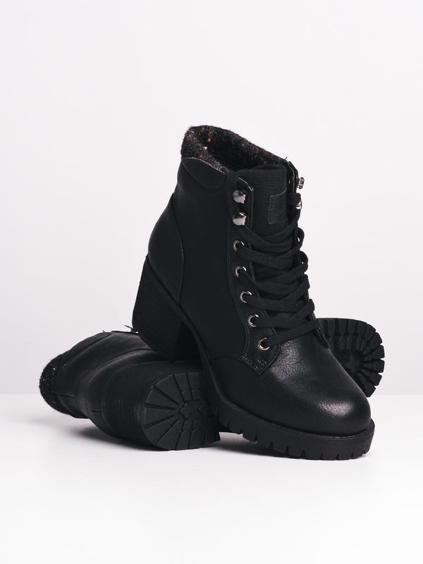 WOMENS LACEY - BLACK-D4B