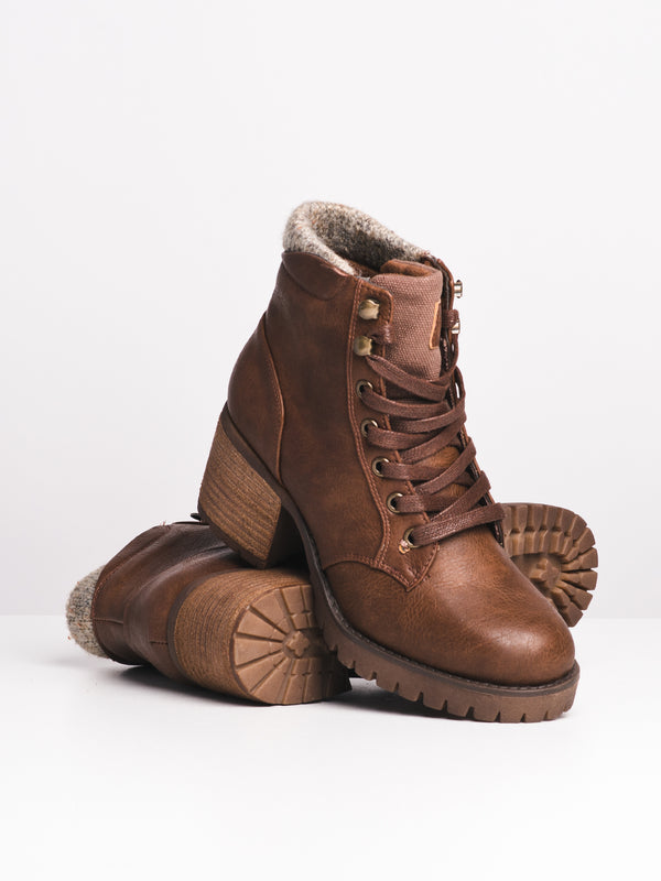 WOMENS LACEY - BROWN-D4B