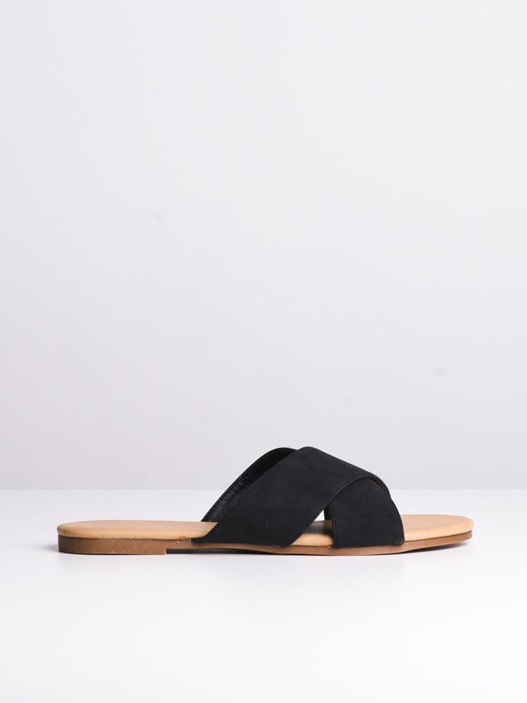 WOMENS JESSA BLACK SANDALS- CLEARANCE