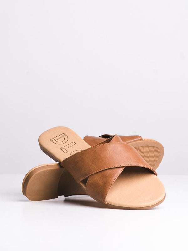 WOMENS JESSA TAN SANDALS- CLEARANCE