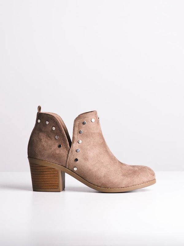 WOMENS SCARLETT TAUPE BOOTS- CLEARANCE