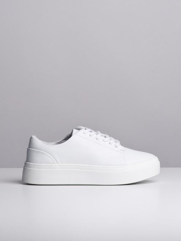 WOMENS KENNEDY WHITE SNEAKERS- CLEARANCE