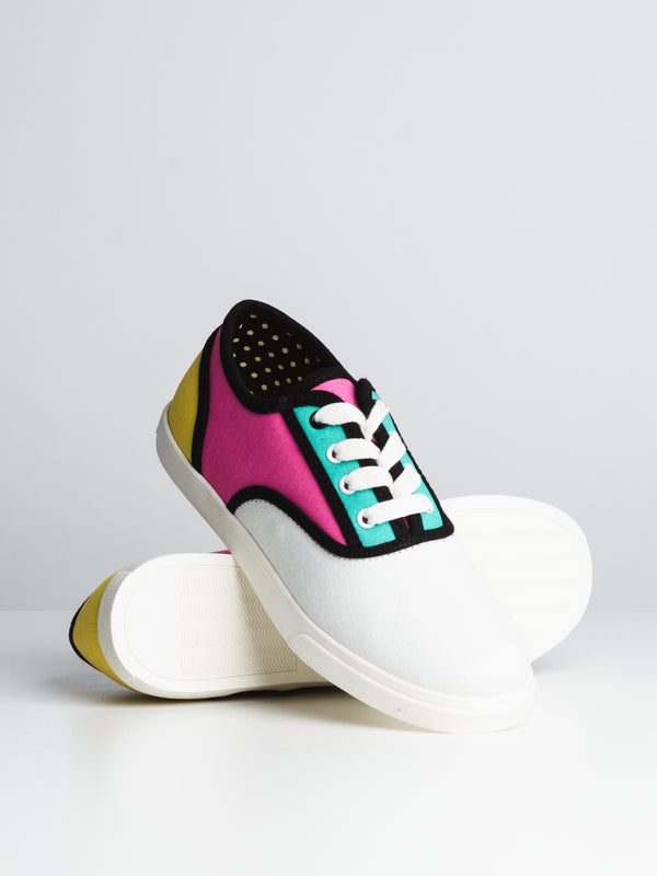 WOMENS ELSIE - WHITE/MULTI-D1