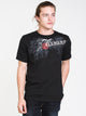 MENS MATHIS SHORT SLEEVE T-SHIRT - BLACK