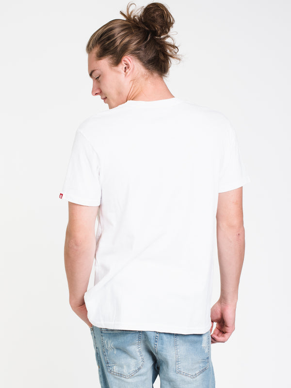 MENS MATHIS SHORT SLEEVE T-SHIRT - WHITE