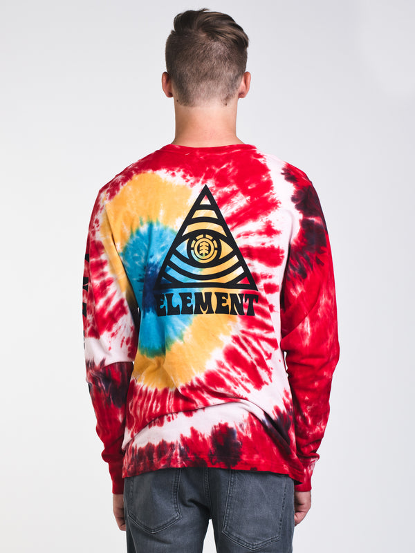 MENS EVERETT TIE DYE LONG SLEEVE T-SHIRT