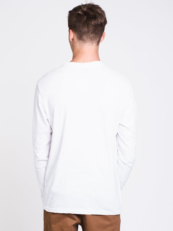 MENS VICTORY LONG SLEEVET-SHIRT- OPTIC WHITE