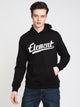 MENS LEAGUE PULLOVER HOODIE - BLACK