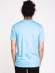 MENS PRADO SHORT SLEEVE T-SHIRT - LIGHT BLUE