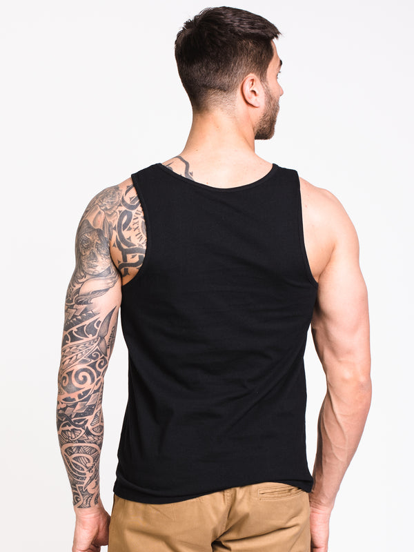 MENS FRATTINI TANK - BLACK
