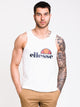 MENS FRATTINI TANK - WHITE - CLEARANCE