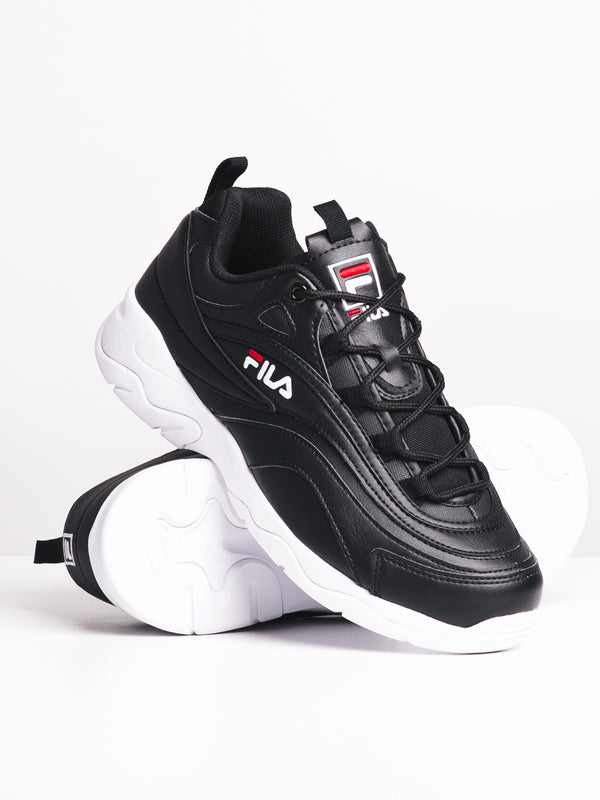 MENS FILA BAY - BLACK/WHITE