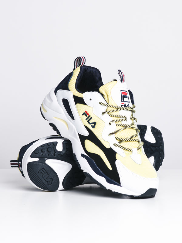 MENS RAY TRACER - WHITE/YELLOW