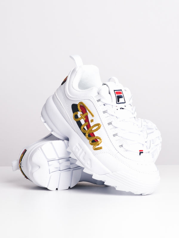WOMENS DISRUPTOR II SIG - WHITE/GOLD