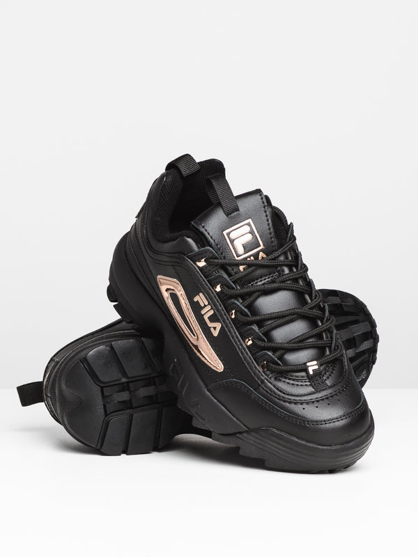 WOMENS DISRUPTOR II METALLIC - BK/RS