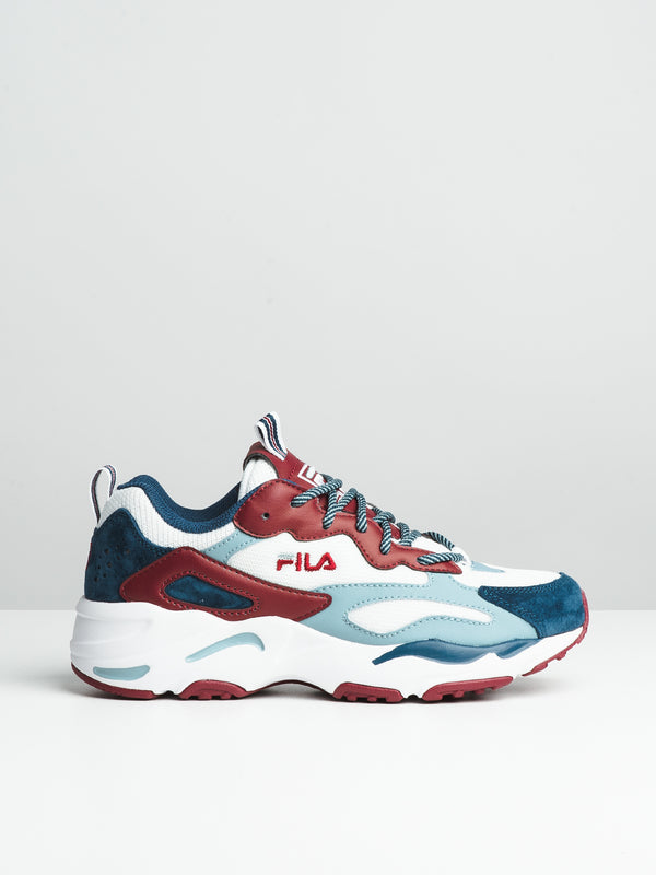 WOMENS RAY TRACER - WHITE/BLUE/RED
