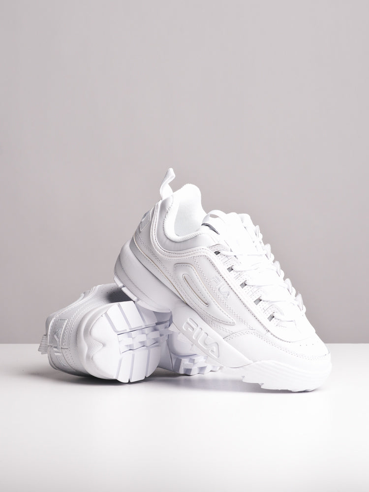 WOMENS DISRUPTER II PREMIUM WHITE SNEAKERS