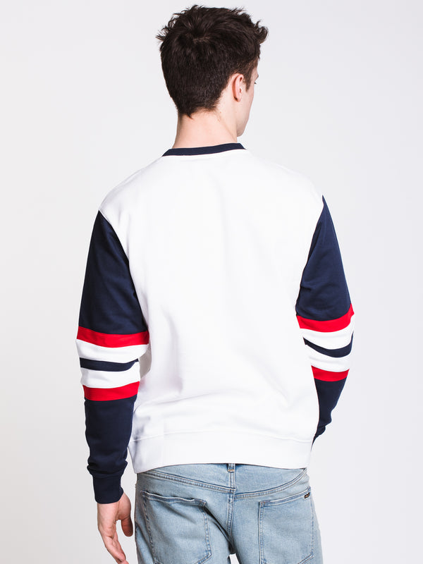 MENS LAMBERT SWEATSHIRT - WHITE