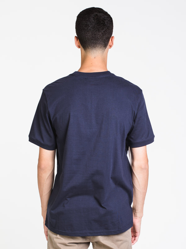 MENS ALVAN SHORT SLEEVE T-SHIRT- NAVY