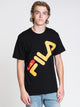MENS MICAH S/S T - BLACK