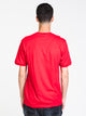 MENS DIXON SHORT SLEEVE T-SHIRT- RED