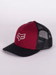HEADS UP TRUCKER HAT - RED - CLEARANCE