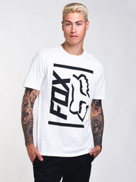 MENS SIDE BARRED SHORT SLEEVE PREM T