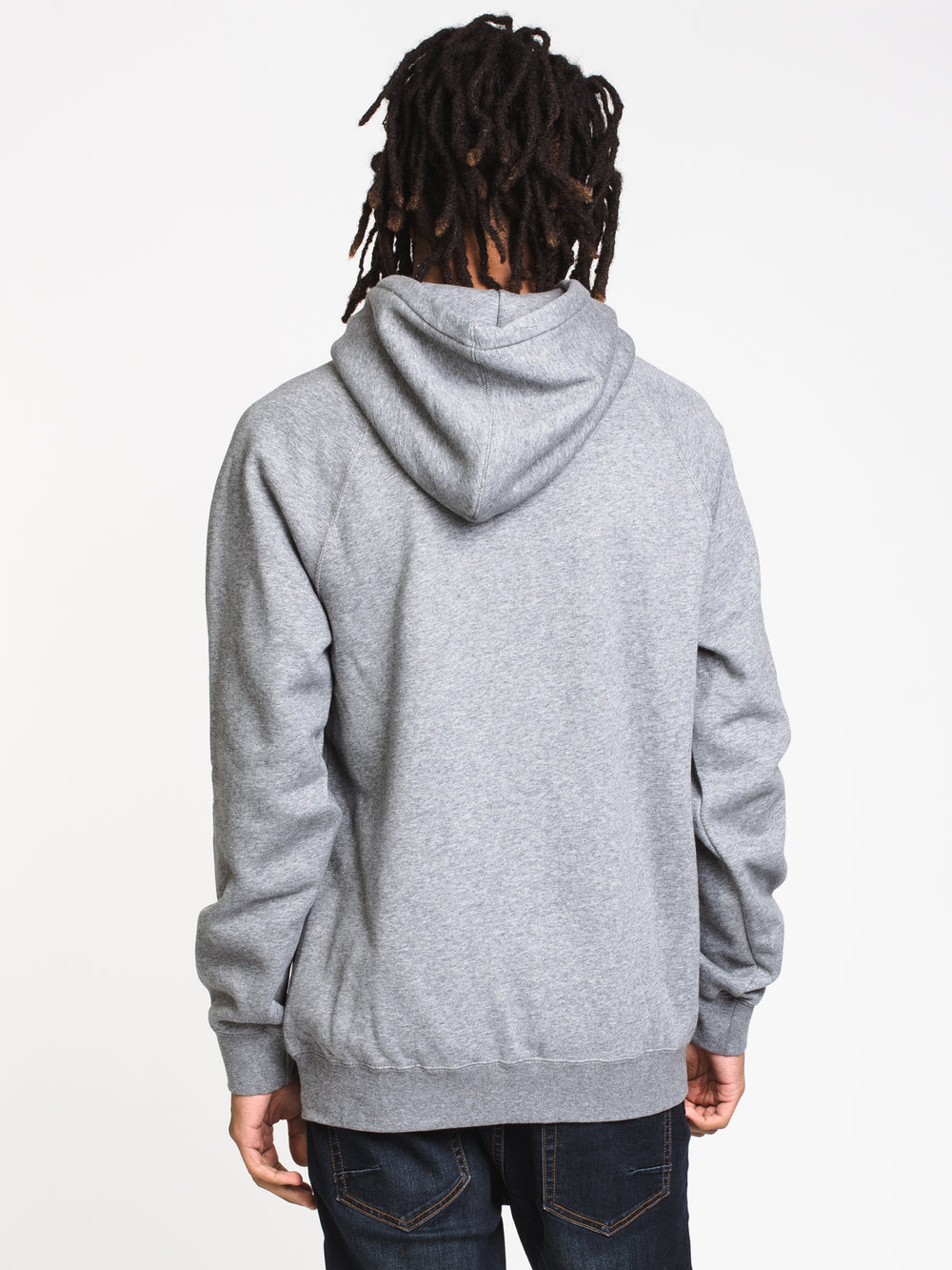 MENS REFRACT DWR PULLOVER HD - HTHR GREY