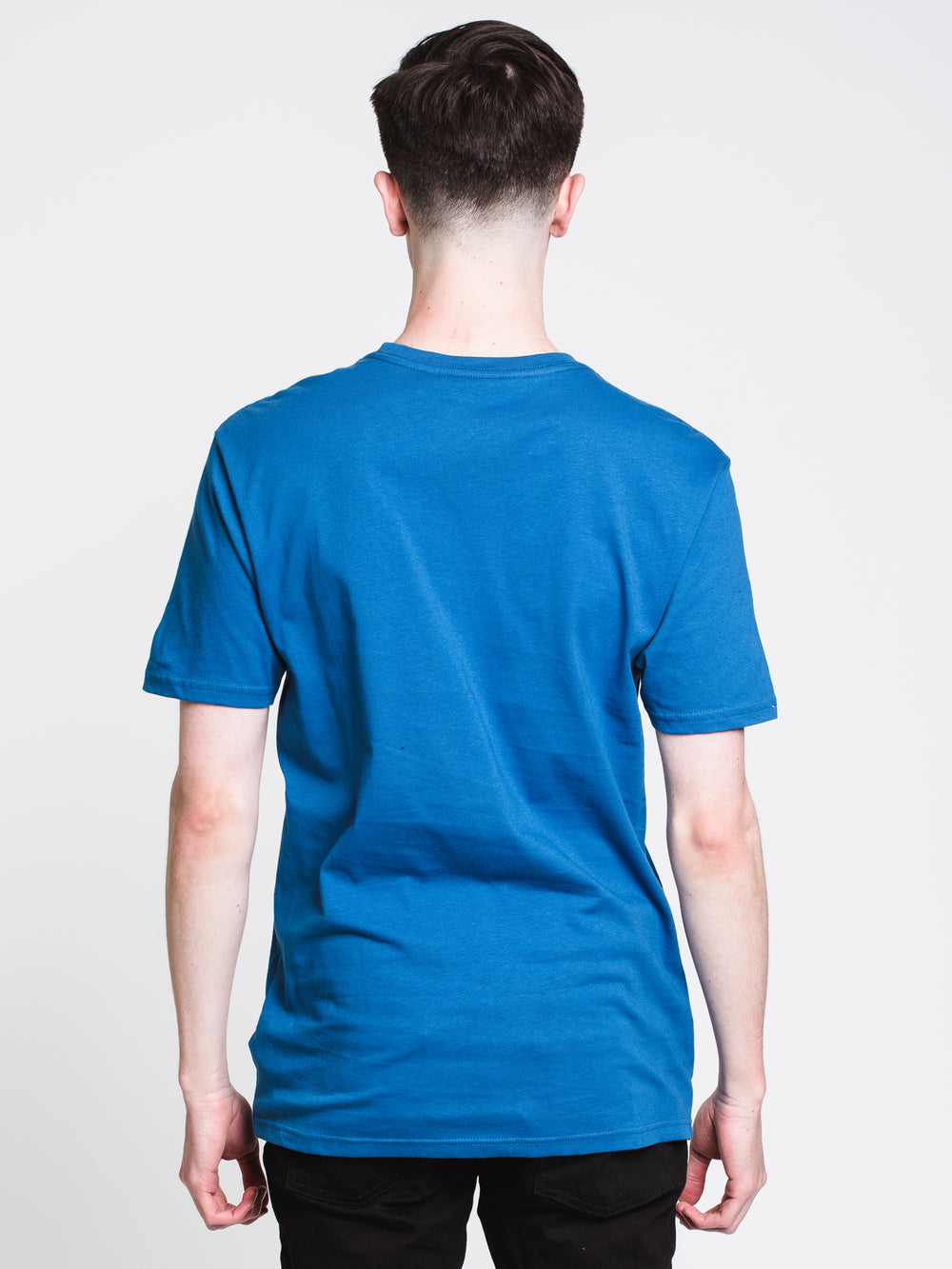 MENS CASTR SHORT SLEEVET-SHIRT- ROYAL BLUE