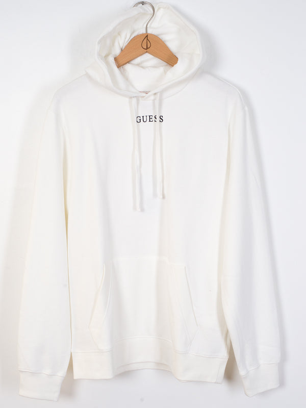 MENS ESSENTIAL PULLOVER HOODIE - OFF WHITE