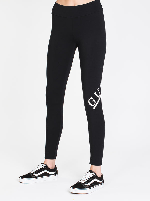 WOMENS ACTIVE JEGGING - JET BLACK